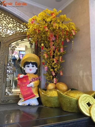 TTTM Ha Noi trang hoang ruc ro don Tet Dinh Dau-Hinh-11