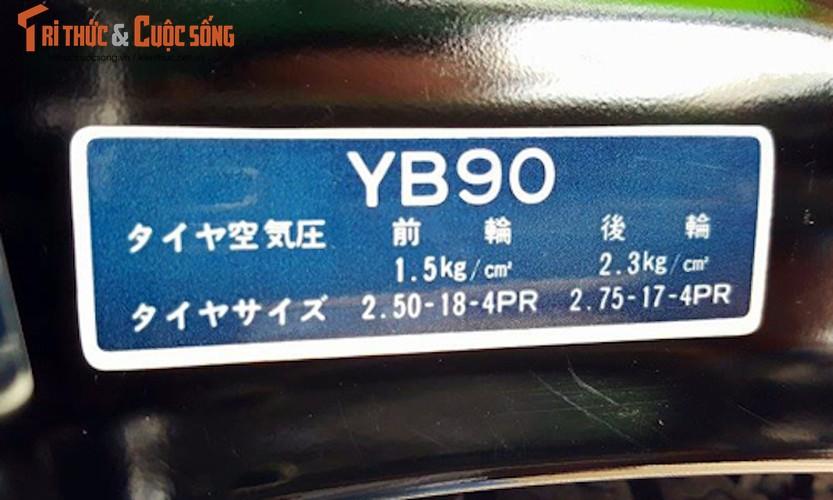 "Yamaha YB90 doi 1972 ""zin"" nhat the gioi o Viet Nam-Hinh-10"