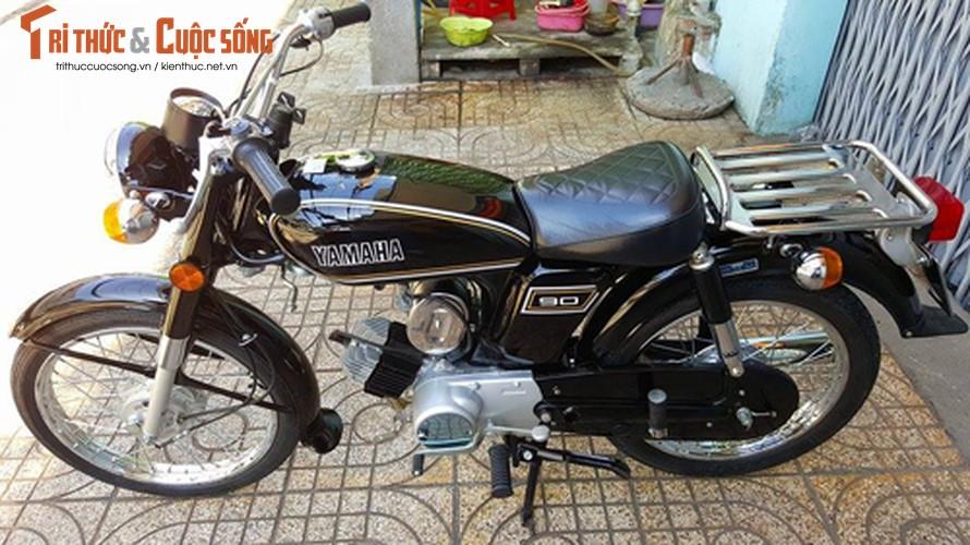 "Yamaha YB90 doi 1972 ""zin"" nhat the gioi o Viet Nam-Hinh-15"