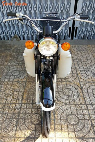 "Yamaha YB90 doi 1972 ""zin"" nhat the gioi o Viet Nam"