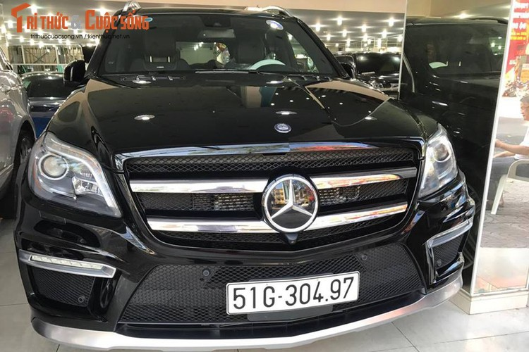 Can canh Mercedes-Benz GL63 AMG gia 8,4 ty o Sai Gon-Hinh-4