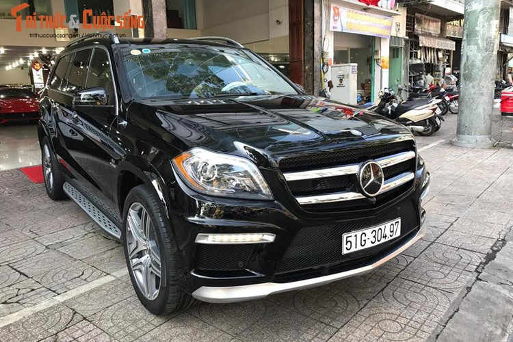 Can canh Mercedes-Benz GL63 AMG gia 8,4 ty o Sai Gon