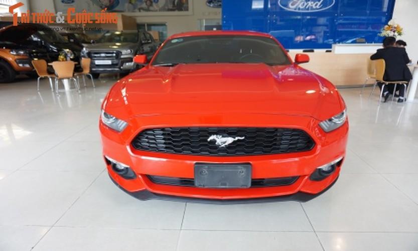 Chi tiet Ford Mustang gia hon 2 ty tai Sai Gon