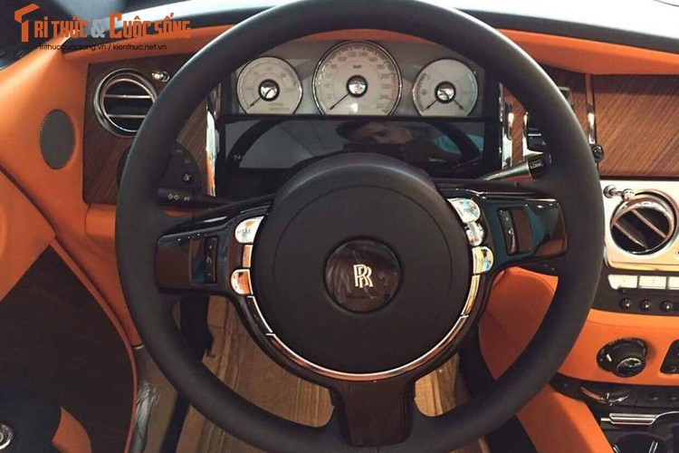 Chi tiet xe sang Rolls-Royce Dawn gia 40 ty tai Sai Gon-Hinh-9