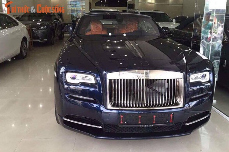 Chi tiet xe sang Rolls-Royce Dawn gia 40 ty tai Sai Gon