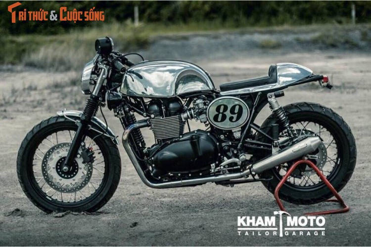 Can canh Triumph Bonneville T100 do cafe racer sieu chat-Hinh-2