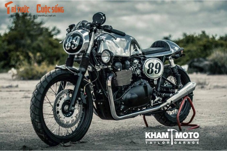 Can canh Triumph Bonneville T100 do cafe racer sieu chat-Hinh-3