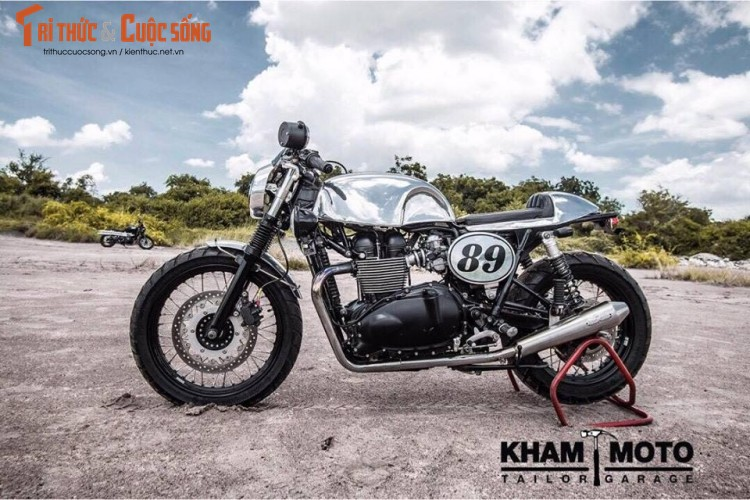 Can canh Triumph Bonneville T100 do cafe racer sieu chat-Hinh-6