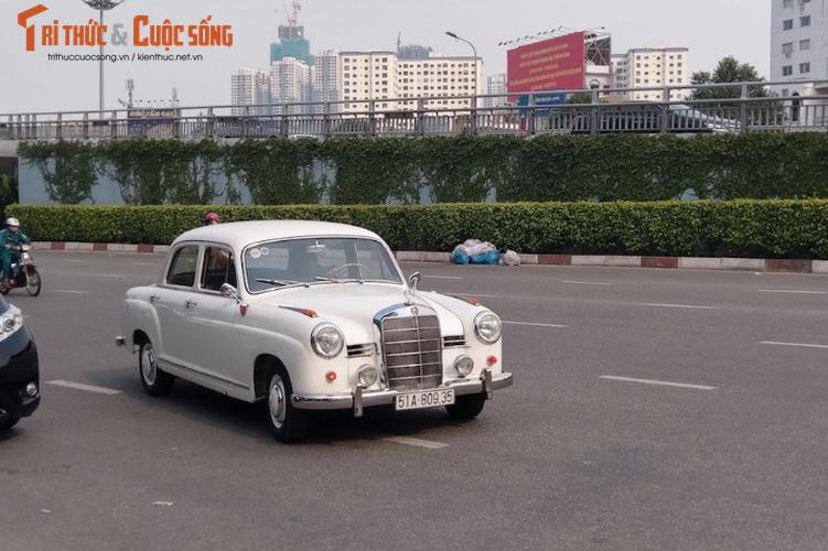 """""""Xe cu"""" hon 50 tuoi Mercedes 190 Ponton tai Sai Gon-Hinh-2"""