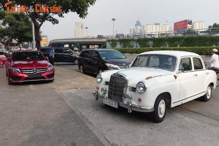 """""""Xe cu"""" hon 50 tuoi Mercedes 190 Ponton tai Sai Gon-Hinh-3"""