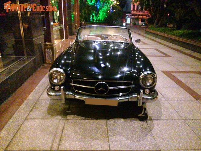 """Sieu Mercedes 190SL """"cuc hiem"""" cua dai gia Ninh Binh-Hinh-10"""