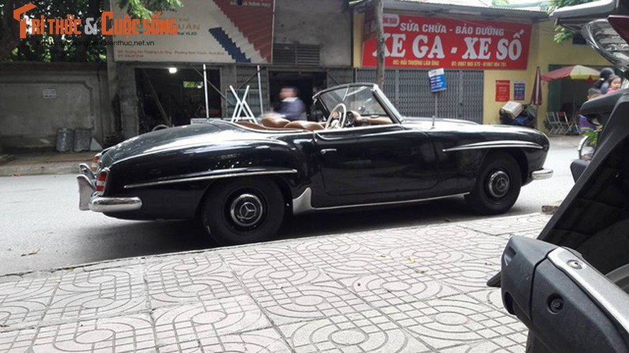 """Sieu Mercedes 190SL """"cuc hiem"""" cua dai gia Ninh Binh-Hinh-4"""