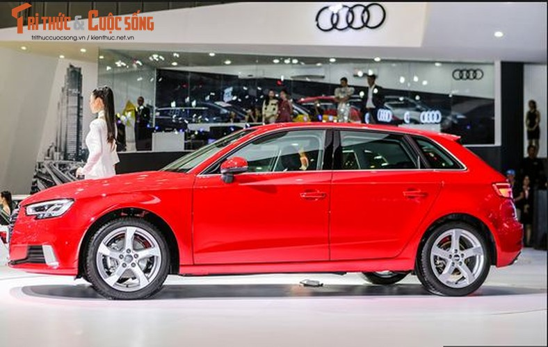 Can canh Audi A3 Sportback gia 1,55 ty tai Viet Nam