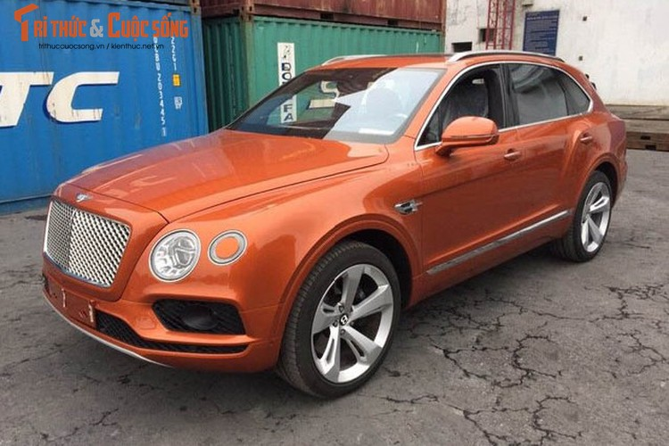 SUV Bentley Bentayga gia 22 ty ve Viet Nam don Tet