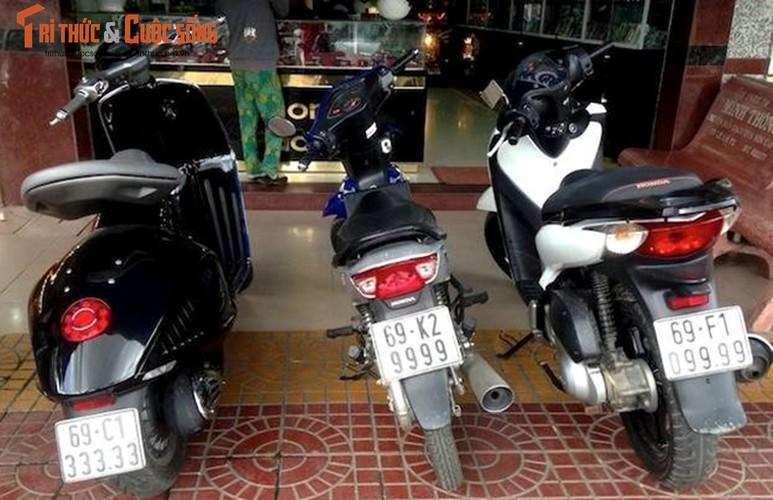 Dan xe tay ga Honda SH 150i bien khung, gia chat tai VN-Hinh-5
