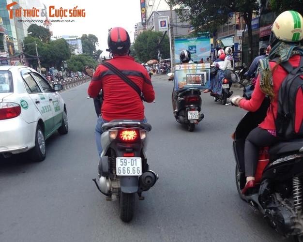Dan xe tay ga Honda SH 150i bien khung, gia chat tai VN-Hinh-9