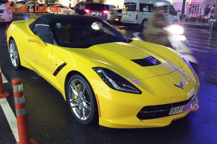 Sieu xe Chevrolet Corvette C7 Stingray gia 5 ty tai VN