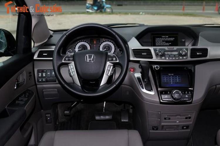 """Xe hop"" Honda Odyssey nhap My gia 3,8 ty tai Viet Nam-Hinh-8"