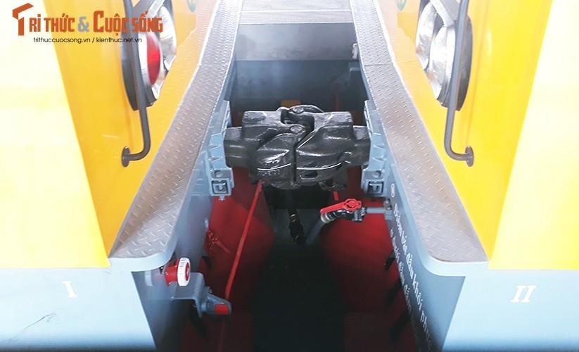Chum anh: Dau may chay 5-20km/h tren tuyen duong sat Cat Linh-Ha Dong-Hinh-11