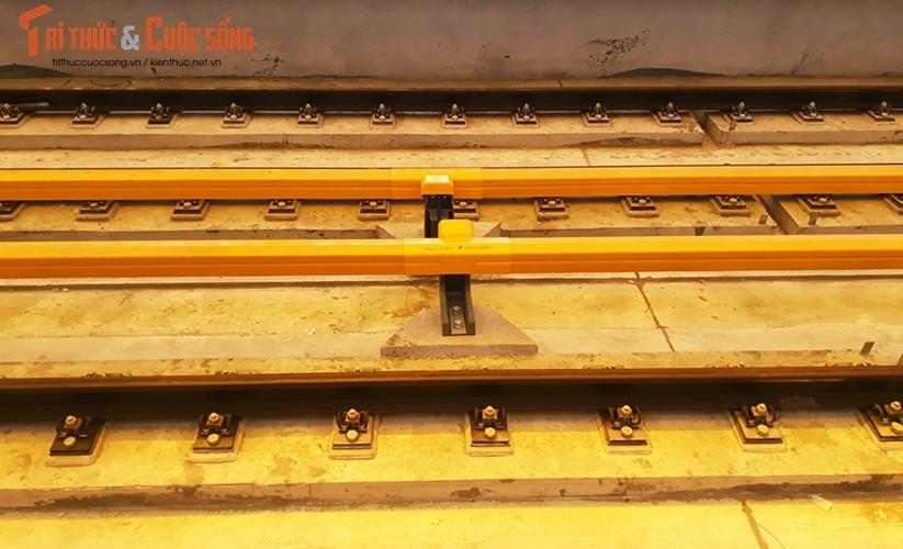 Chum anh: Dau may chay 5-20km/h tren tuyen duong sat Cat Linh-Ha Dong-Hinh-12