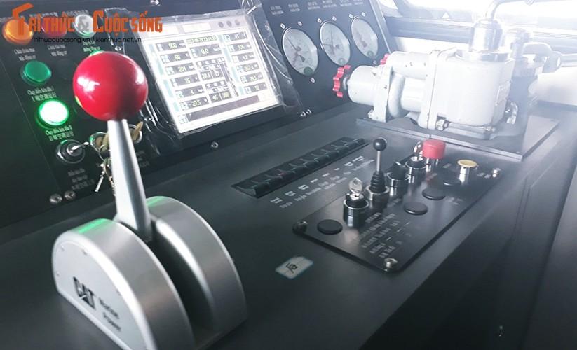 Chum anh: Dau may chay 5-20km/h tren tuyen duong sat Cat Linh-Ha Dong-Hinh-3