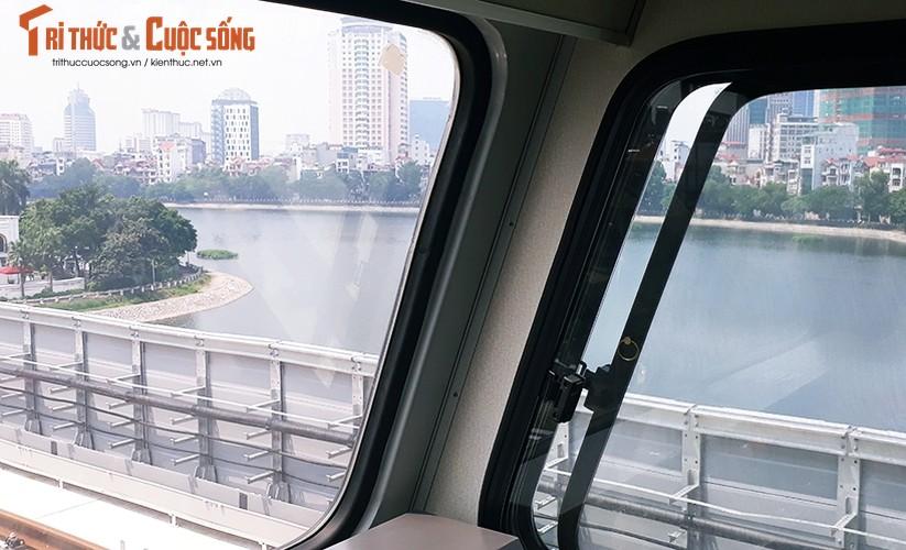 Chum anh: Dau may chay 5-20km/h tren tuyen duong sat Cat Linh-Ha Dong-Hinh-7