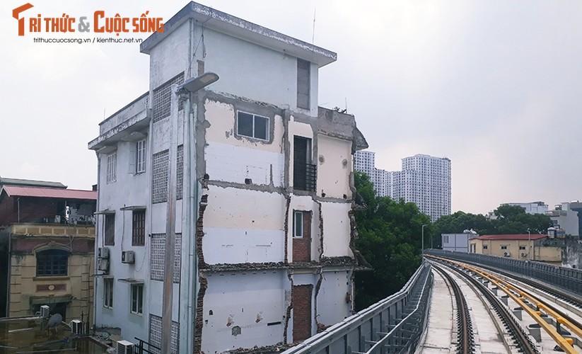 Chum anh: Dau may chay 5-20km/h tren tuyen duong sat Cat Linh-Ha Dong-Hinh-8