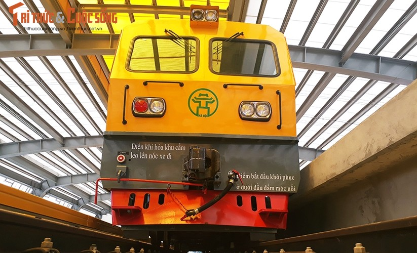 Chum anh: Dau may chay 5-20km/h tren tuyen duong sat Cat Linh-Ha Dong-Hinh-9