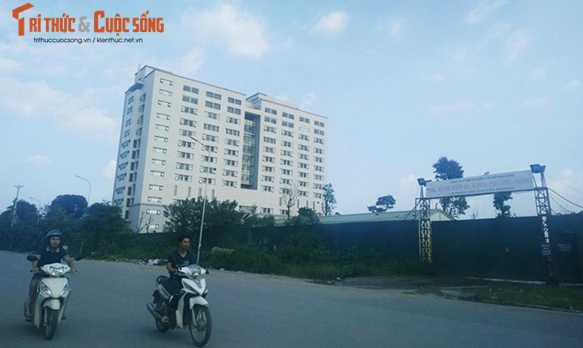 Ly do khong ngo khien BVDK Phuong Dong bi dinh chi xay dung