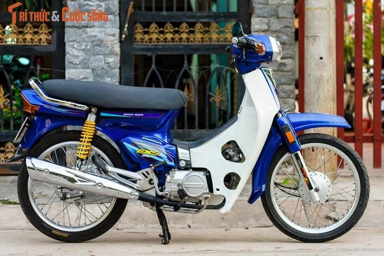 "Honda Dream Thai ""giat moi"" sieu chat tai Sai Gon"