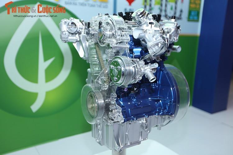 Ford Viet Nam trinh dien dong co EcoBoost tai VMS 2016-Hinh-2