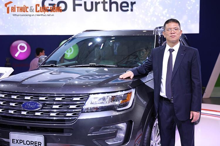 Ford Viet Nam trinh dien dong co EcoBoost tai VMS 2016-Hinh-4