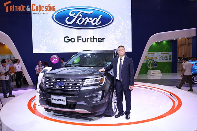 Ford Viet Nam trinh dien dong co EcoBoost tai VMS 2016