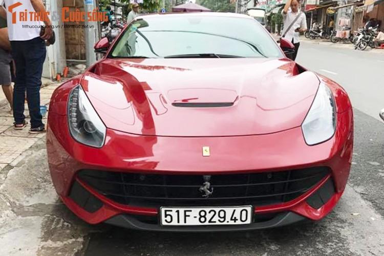 Sieu xe Ferrari F12 ban do Dubai gia 22 ty tai Sai Gon