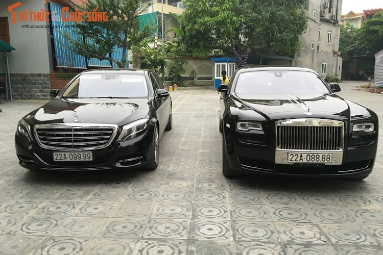 Rolls-Royce Ghost 27 ty bien