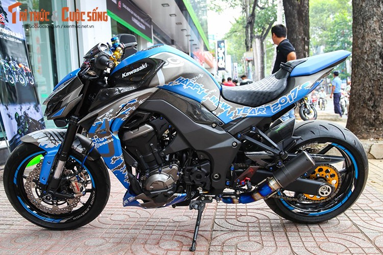 Kawasaki Z1000 do doc don Tet Dinh Dau 2017
