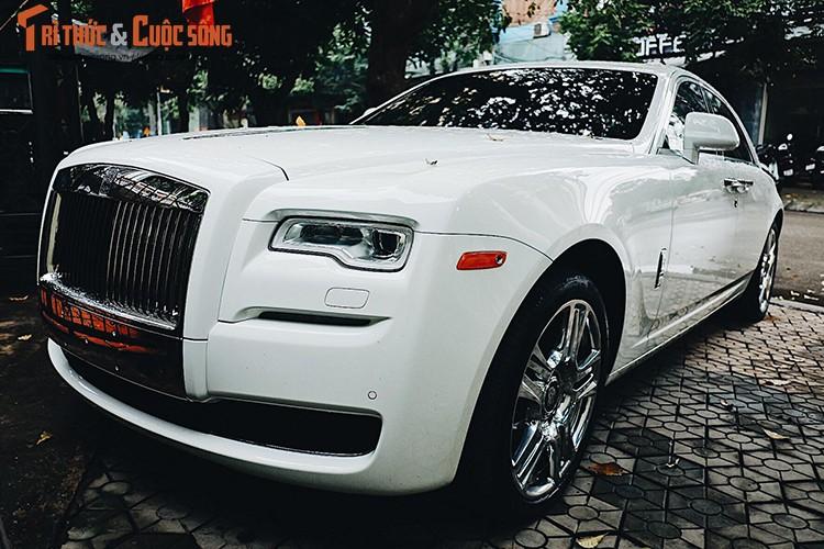 Rolls-Royce Ghost 42 ty ve Nghe An don Tet Dinh Dau