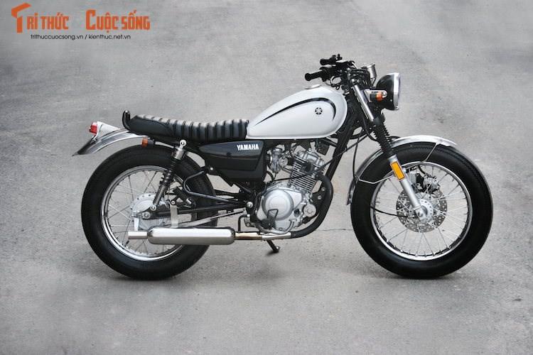 """""""Xe Tau"""" Yamaha YB125SP gia hon 40 trieu ve VN"""