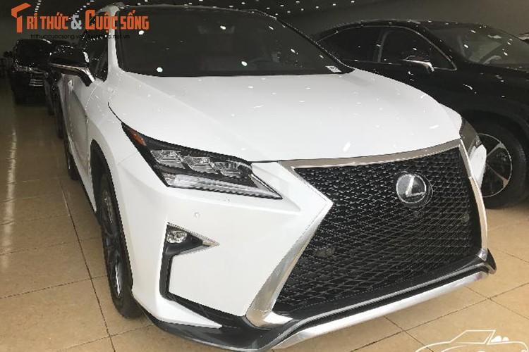 """""""Soi"""" Lexus RX 350 F-Sport 2017 gia 4,3 ty tai Ha Noi-Hinh-3"""