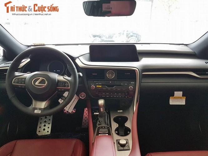 """""""Soi"""" Lexus RX 350 F-Sport 2017 gia 4,3 ty tai Ha Noi-Hinh-8"""