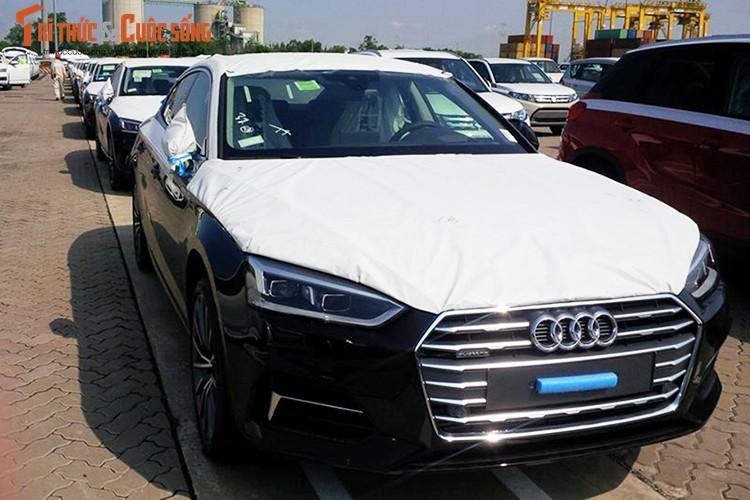 """""""Dap thung"""" dan xe sang Audi A5 Sportback moi tai Sai Gon"""