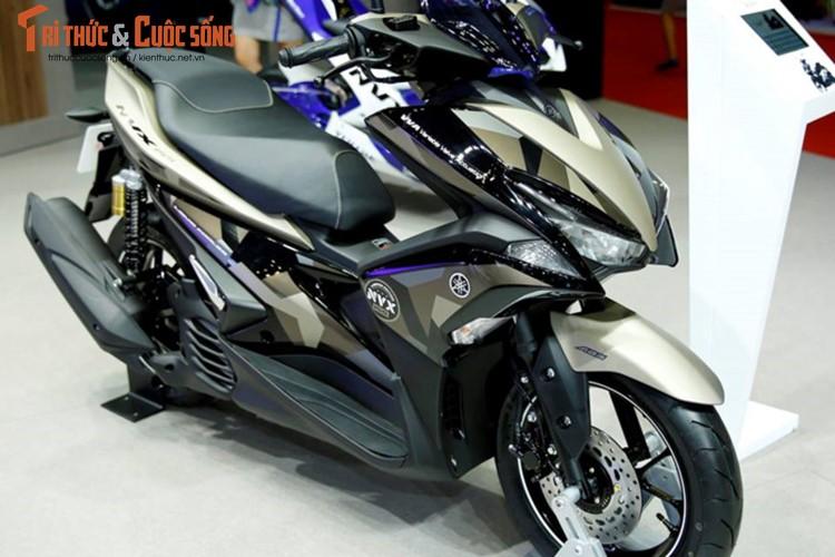 """Yamaha Viet Nam ra mat NVX 155 """"phuoc khong cong""""-Hinh-2"""