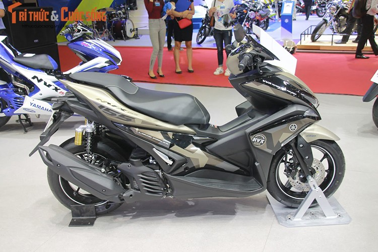 """Yamaha Viet Nam ra mat NVX 155 """"phuoc khong cong""""-Hinh-9"""