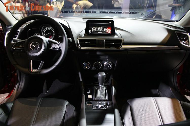 "Tang gia 30 trieu dong - Mazda3 phien ban 2017 co gi ""hot""?-Hinh-9"
