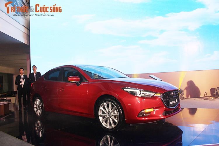 """Tang gia 30 trieu dong - Mazda3 phien ban 2017 co gi """"hot""""?"""