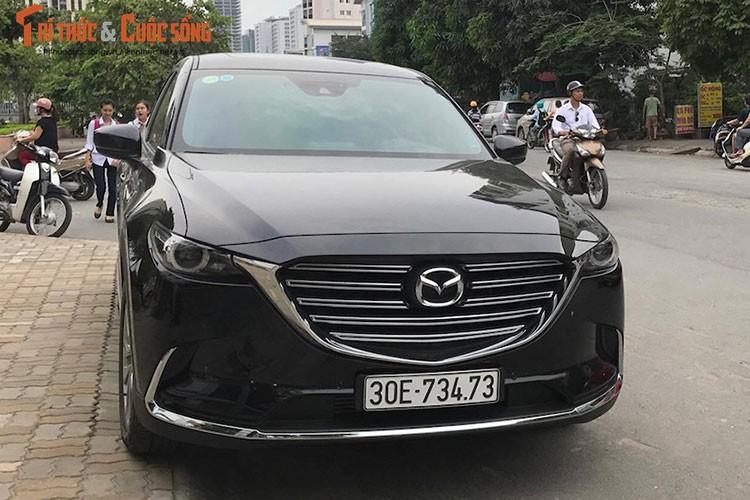 Mazda CX-9 moi hon 2 ty dau tien lan banh tai VN