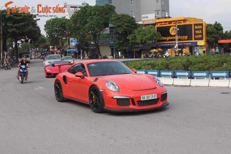 "Cuong Do La ""tau"" Porsche 911 GT3 RS 13,8 ty dong?"