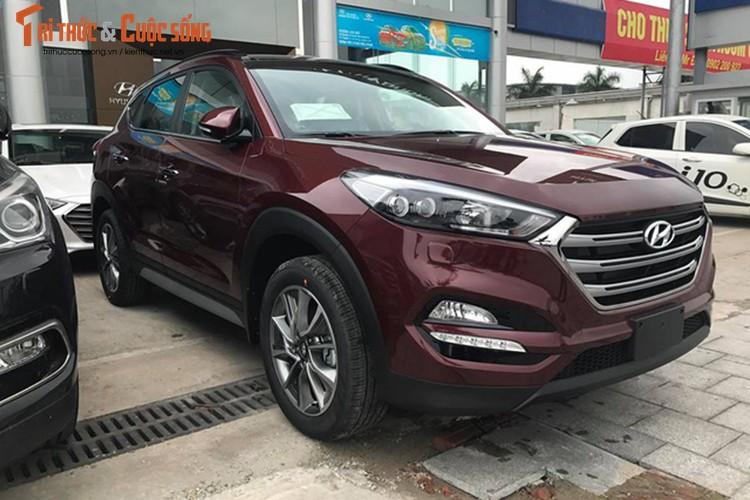 Hyundai Tucson 2017 gia gan 1 ty dong dau tien tai Ha Noi-Hinh-3