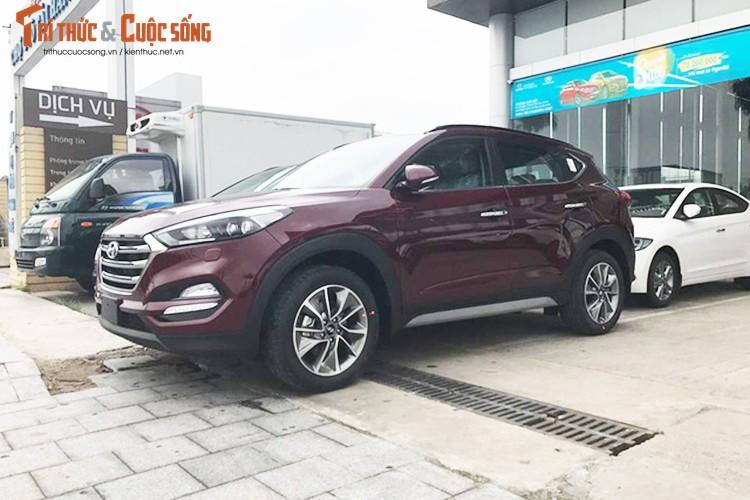 Hyundai Tucson 2017 gia gan 1 ty dong dau tien tai Ha Noi-Hinh-4