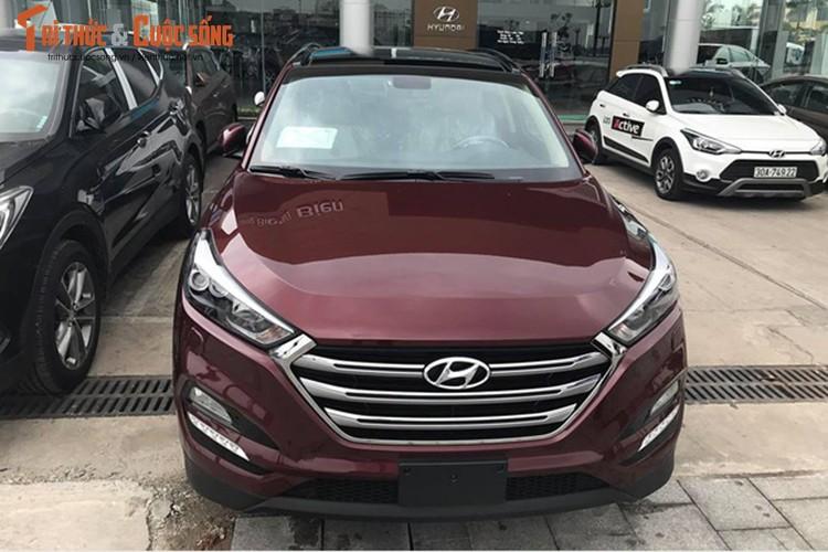 Hyundai Tucson 2017 gia gan 1 ty dong dau tien tai Ha Noi